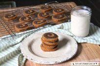 Peanut Butter Chocolate Spiral Cookies