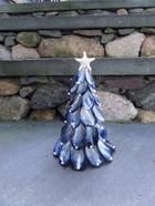 Small Mussel Shell Tree by BluePeriwinkleShells on Etsy, $45.00