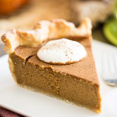 Think you're not a fan of Pumpkin Pie? This Spiced Pumpkin Pie may very well have you change your mind.