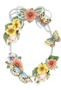 Oval flower and butterfly frame Butterfly Frame, Flower Frame, Vintage Labels, Vintage Cards, Diy And Crafts, Arts And Crafts, Printable Frames, Borders And Frames, Paper Frames