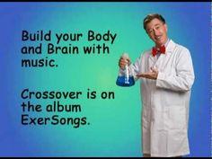 Jack Hartman doing some brain gym exercises