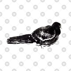 Check out this awesome 'dove+pigeon+linocut+bird' design on Dove Pigeon, Bird Design, Steampunk, Awesome, Check
