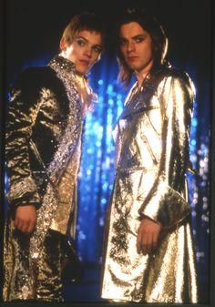 Ewan McGregor and Jonathan Rhys Meyers in Velvet Goldmine