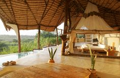 Shompole Lodge, near alakes Natron and Magadi, Kenya, Africa. Nice for honeymoon!