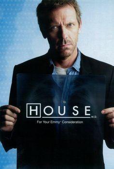 Vente affiche série TV Docteur House: achetez le poster pas cher ...