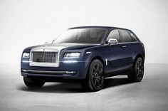 2017 Rolls-Royce SUV Cullinan is likely is going to be equipped with a V12 engine to get the maximum power of 600 HP...with the base price of $330,000...
