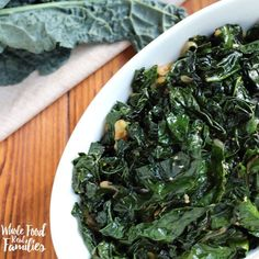 This is The Most Awesome Sauteed Kale ever and apparently, you agree! It has been the number one recipe at My Nourished Home for years!