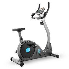 awesome Capital Sports Ergo Pro Ergómetro Bicicleta estática (Masa oscilante de 15kg, resistencia magnética regulable, entrenador digital con pulsómetro, contador calorías, distancia, velocidad, ruedas para transporte)