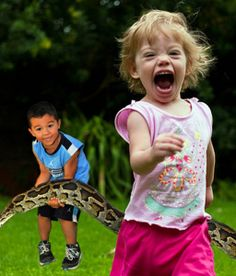 Screaming children and a 50-foot snake; welcome to Unce Ned's day care