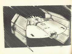 sketch (by Joe Johnston - concept artist and effects technician on #starwars)