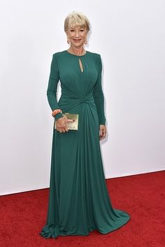 Best dressed - Helen Mirren in Elie Saab. I KNEW there was a reason I love Elie Saab! Helen Mirren is my style icon! Mother Of Bride Outfits, Mothers Dresses, Evening Dresses, Formal Dresses, Helen Mirren, Bridesmaid Dresses, Wedding Dresses, Groom Dress, Celebrity Dresses
