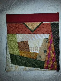 Scrappy snap purse made by Linda Duplantis