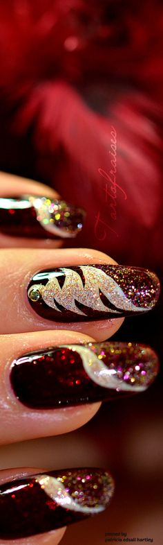 # Dazzle Me Red Nails
