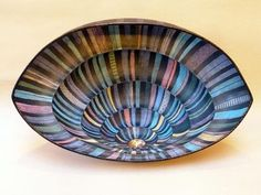 Ceramics by Sandra Eastwood MARCA at Studiopottery.co.uk - Woven Bowl 1. 2010.