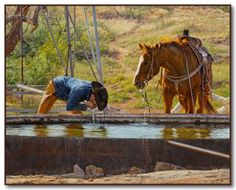 Western Artist Tim Cox - Cowboy Art - Ranch Art