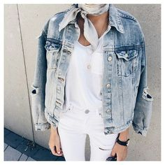 Everyone needs an oversized denim jacket in their wardrobe.