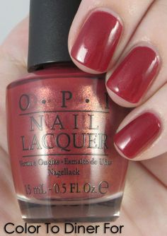 OPI: Color To Dine For
