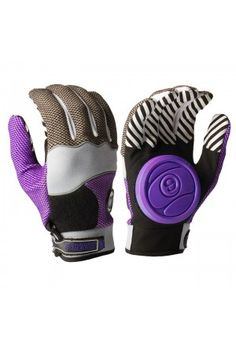 sector 9 purple apex longboard slide gloves