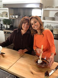 Me and my pal Ina cookin' up a feast!!!