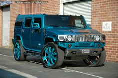Beautiful Hummer H2 by West Coast Custom