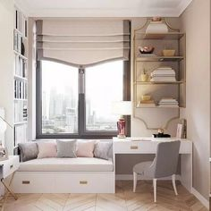 Office In Master Bedroom Inspirational 45 Introducing Small Bedroom Storage Ideas 61 Mykinglist Room Design Bedroom, Home Room Design, Bedroom Decor, Girls Bedroom, Bedroom Ideas, Master Bedroom, Master Suite, Wood Bedroom, Bed Ideas