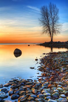 Morning Reflections by James Marvin Phelps - Morning Reflections Lake Erie Metro Park Michigan Reflection Photography, Landscape Photography, Example Of Reflection, Reflection Photos, Peaceful Places, Closer To Nature, Gods Creation, Beautiful World, Beautiful Places