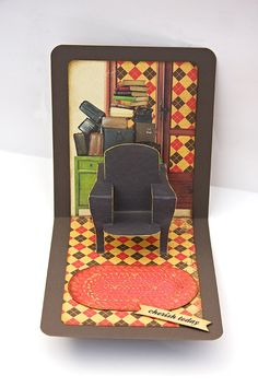 Pop 'n Cuts Card inside - Scrapbook.com Jan Hobbins