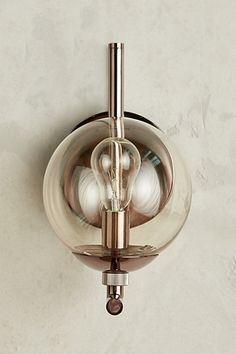 Perryman Sconce #anthropologie