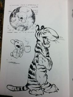 Printed copy of Chris Sanders (Director for Lilo & Stitch, How to Train Your Dragon, The Croods) Sketchbook. - Imgur