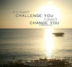 challenge you | Haiti | quote