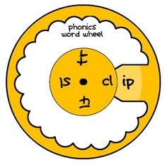 phonics word wheel