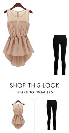 """""""incompleto"""" by gabriela-quiroz-1 on Polyvore featuring Belleza y J Brand"""