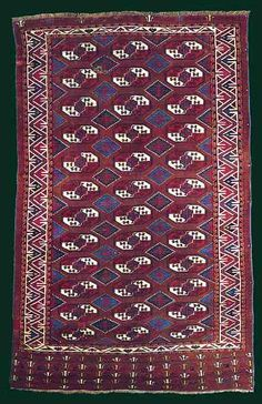 Oriental Rugs: The Dodds Yomut Carpet