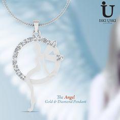 #Unique #Collection of #Diamond #Angel #Pendants and #Gold #Pendants