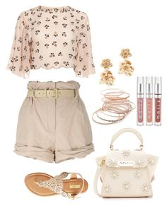 """""""Casual Day Out"""" by shababy0403 on Polyvore featuring Moschino, Qupid, ZAC Zac Posen, Red Camel and Oscar de la Renta"""