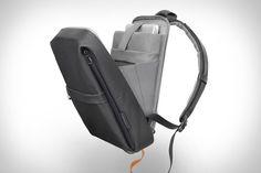 Cote & Ciel Coated Techno Canvas Flat Backpack off çok şıkmış Laptop Backpack, Backpack Bags, Leather Backpack, Backpack Cooler, Canvas Backpack, Waterproof Backpack, Transporter, Designer Backpacks, Luggage Bags