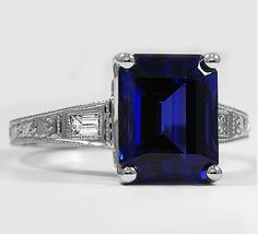 Now, that's a sapphire.