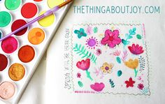 the thing about joy...: Art Journal Tips
