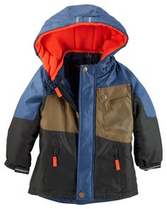 Baby Boy OshKosh 4-in-1 Jacket from OshKosh B'gosh. Shop clothing & accessories from a trusted name in kids, toddlers, and baby clothes.