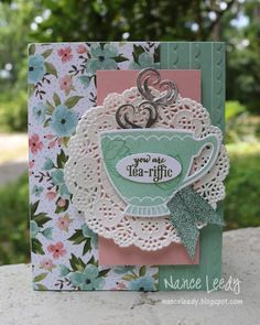 Canopy Crafts: Birthday Tea Party - PP392
