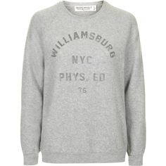 Project Social T Williamsburg Sweatshirt by Project Social T (77 CAD) ❤ liked on Polyvore featuring tops, hoodies, sweatshirts, sweaters, jumpers, camisolas, grey, sweat shirts, sweat tops and gray sweatshirt