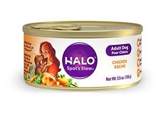 Halo Spots Stew Holistic Wet Dog Food Wholesome Chicken 55 OZ of Canned Dog Food 12 Cans * Details can be found by clicking on the image. (This is an affiliate link) #DogToyBalls