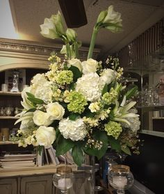 The Young's Wedding. Created by Mockingbird Florist