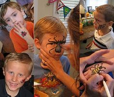 bug face painting