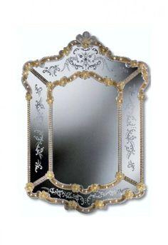 Murano Glass Mirror #330s