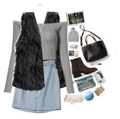 """""""im a nightmare dressed like a daydream"""" by greciapaola ❤ liked on Polyvore featuring H&M, Isabel Marant, Free People, Laura Lee Jewellery, Carhartt, Forever 21, Vince, Royal Copenhagen, Polaroid and Paul & Joe"""