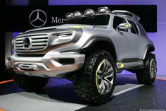 2014 Mercedes-Benz Ener-G-Force: sustainable rock crawler.   Hmmm...yeah, wanna try and tear this one up!