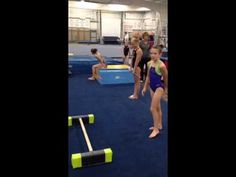 Drills to teach handstand pirouettes on uneven bars   Swing Big!