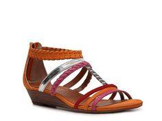 Nicole Freestyle Wedge Sandal Women's Casual Sandals All Women's Sandals Sandal Shop - DSW