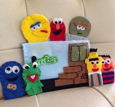 Felt Finger Puppet Sesame Street